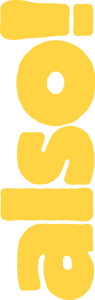 also!-Logo gelb